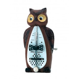 Wittner Taktell Animal Series owl shaped metronome, without bell