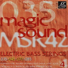 Galli Magic Sound Bass string set electric bass, stainless steel light, 035-045-070-085