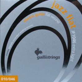 Galli Jazz Flat string set electric, 010-013-017P-026-036-046