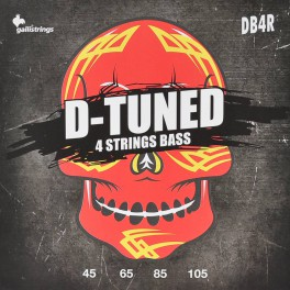 Galli D-Tuned string set electric bass, drop tuning, nickel roundwound, 045-065-085-105