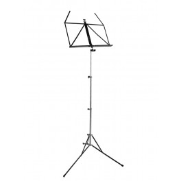 RKB music stand, foldable, extra strong, black powder coating