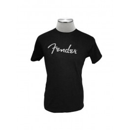 Fender Clothing T-Shirts Logo T-Shirt, black, XL