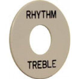 Rhythm treble plaatje LP white