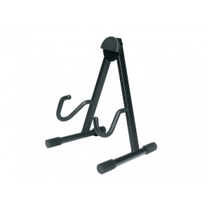 semi-foldable stand, A-model, metal, black, for electric guitar