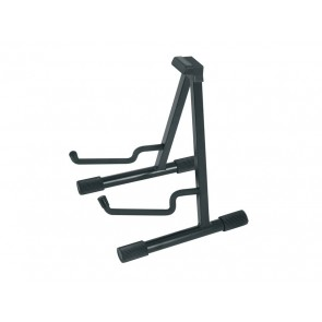 semi-foldable guitar stand, A-model, metal, black, made in EU, for acoustic guitar