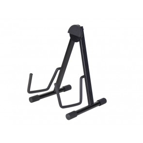 semi-foldable stand, A-model, metal, black, for acoustic guitar