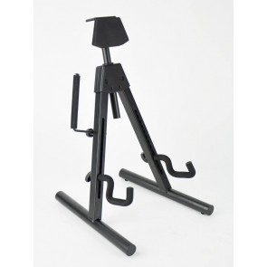 Fender guitar stand 'Universal A-frame', multi-adjustable, for most shapes electric + bass guitars