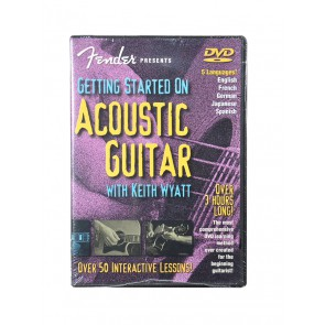 Fender DVD 'Getting Started on Acoustic Guitar DVD'