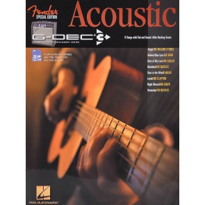 Fender Outlet book & SD card 'Acoustic'