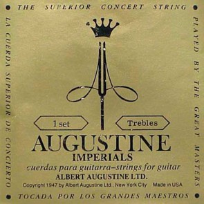 Augustine Imperial Trebles treble string set, medium, E-1, B-2 and G-3 strings only
