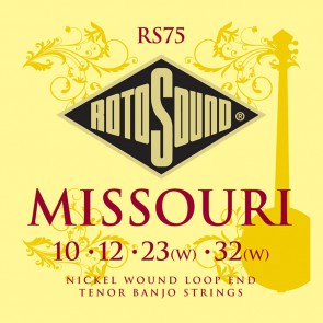 Rotosound Traditional Instruments snarenset tenor banjo, nickel wound, loop end