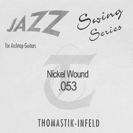 Thomastik Jazz Swing .053 snaar, nickel flatwound