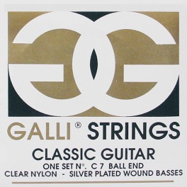 Galli snarenset klassiek, normal tension, ball ends, 028-032-040-029-034-044