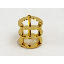 Tube Protection Cage, Gold