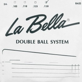 LaBella Double Ball End System .128 bassnaar, voor Steinberger, double ball end
