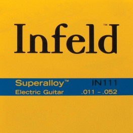 Thomastik Infeld Superalloy snarenset elektrisch, superalloy roundwound, 011-013-020-030-042-052