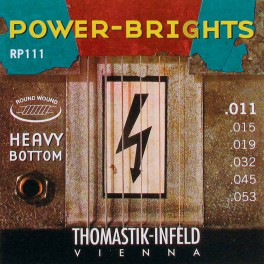 Thomastik Power Brights snarenset elektrisch, magnecore, 011-015-019-032-045-053