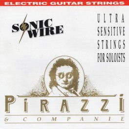 Pirastro Pirazzi Sonic Wire snarenset voor elektrische gitaar, regular tension, nickel wound
