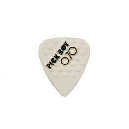 Pickboy Mega Grip 0.70 mm. plectrums, ceramic, 12-pack