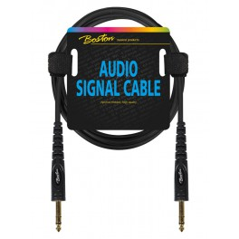 Audio signaalkabel, 6.3mm jack stereo naar 6.3mm jack stereo, 3 meter
