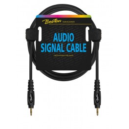 Audio signaalkabel, 3.5mm jack stereo naar 3.5mm jack stereo, 0.75 meter