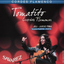 Savarez snarenset Tomatito handtekening, flamenco, hard tension