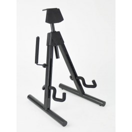 Fender guitar stand 'Universal A-frame' multi-adjustable for most shapes electric + bass guitars
