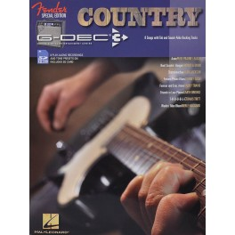 Fender book & SD card 'Country'