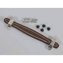 Fender Genuine Replacement Part amp handle brown leather vintage