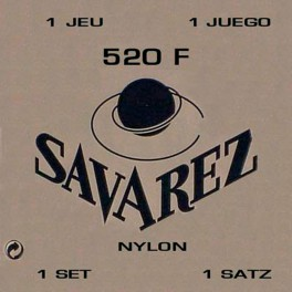 Savarez snarenset klassiek, Rouge, rectified nylon, traditional basses, hard tension, wound G-3