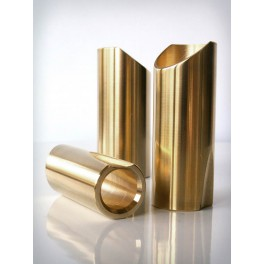 The Rock Slide polished brass