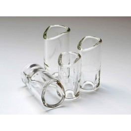 The Rock Slide moulded glass slide size L (inside 21.0 - length 63.0mm)