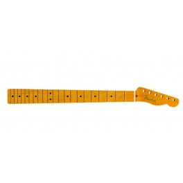 Fender Genuine Replacement Part 50's Telecaster neck, 21 vintage frets, maple fb, amber lacquered