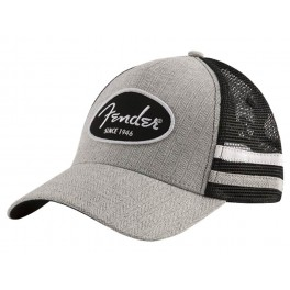 Fender Clothing Headwear core trucker cap with side stripes