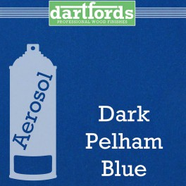 Dartfords Metallic Cellulose Paint Pelham Dark Blue - 400ml aerosol
