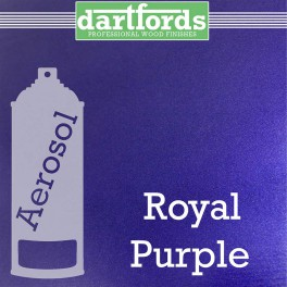 Dartfords Metallic Cellulose Paint Royal Purple - 400ml aerosol