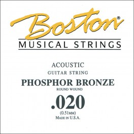 Boston .020 snaar, phosphor bronze