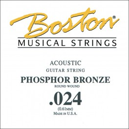 Boston .024 snaar, phosphor bronze