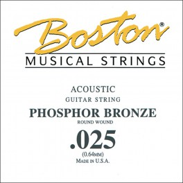 Boston .025 snaar, phosphor bronze