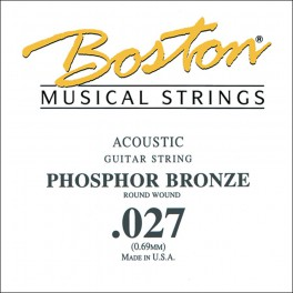 Boston .027 snaar, phosphor bronze