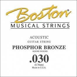 Boston .030 snaar, phosphor bronze