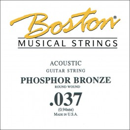 Boston .037 snaar, phosphor bronze