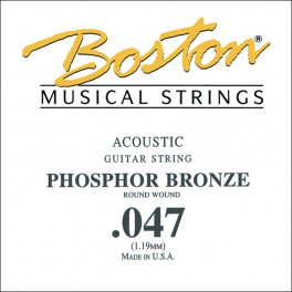 Boston .047 snaar, phosphor bronze