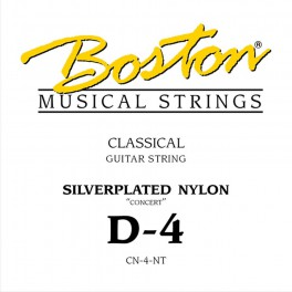 Concert Series D-4 snaar voor klassieke gitaar, silverplated nylon, normal tension