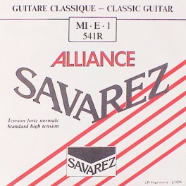 Savarez Alliance Classic E-1-snaar, clear KF composite fiber, sluit aan bij 540-R set, normal tension