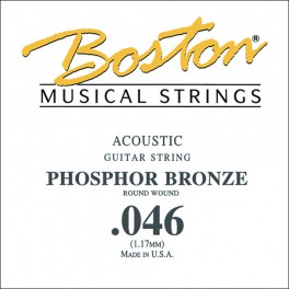 Boston .046 snaar, phosphor bronze