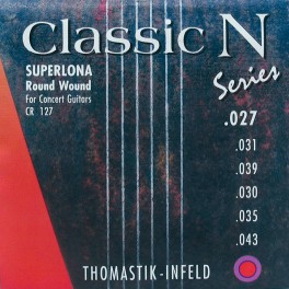Thomastik Classic N snarenset klassiek, superlona roundwound