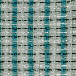 Grillcloth Fender Turquoise-White-Silve