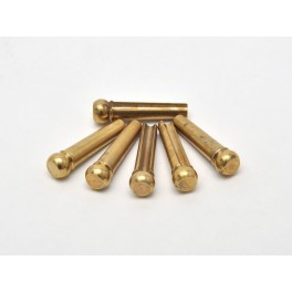 Bridge Pins Brass