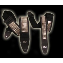 LM Metal Studs Strap Leather 20st